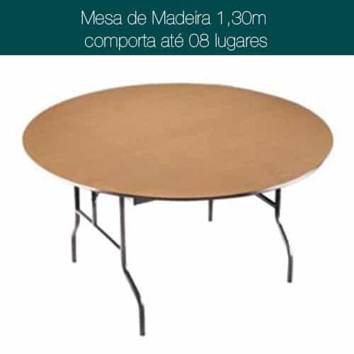 Imagem de mobiliário de 130cm para 8 lugares